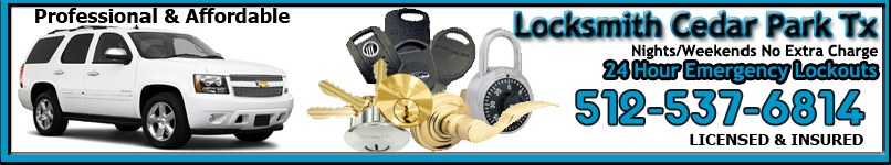 Locksmith Cedar Park Texas